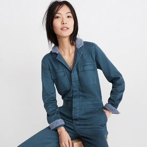 Sherpa Coverall Jumpsuit